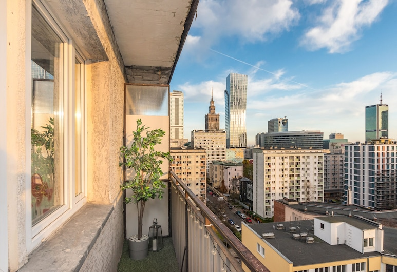 Little Home - Panska 61, Warszawa, Apartament, Balkon