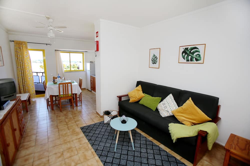 Family Apartment, 1 Bedroom - Living Room