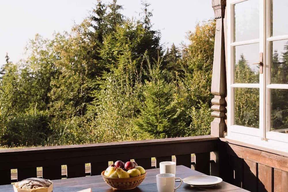 Standard Chalet, 1 Bedroom, Mountain View - Balcony