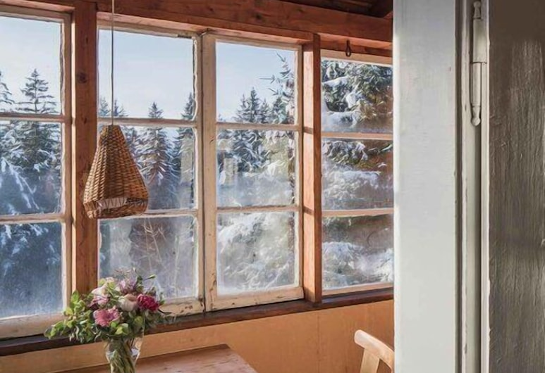 Berghütte Innsbruck, Innsbruck, Chalet estándar, 1 habitación, vista a la montaña, Sala de estar