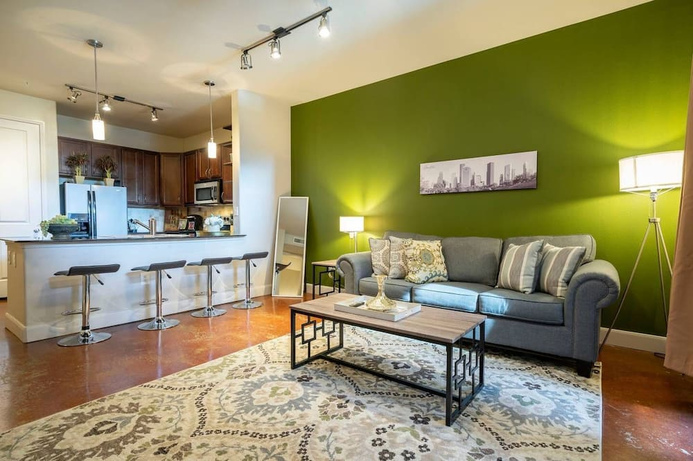 Luxury Apartment, 1 Bedroom (1 Bedroom) - Living Room