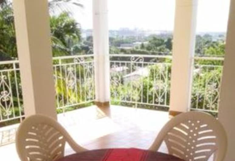 Apartment With one Bedroom in Fort-de-france, With Wonderful sea View, Furnished Terrace and Wifi, Fort-de-France, Terrasse/Patio