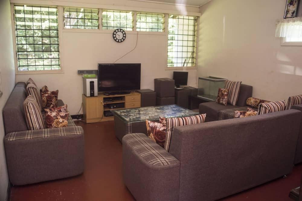 Gazdaságos szoba kétszemélyes ággyal - Nappali rész