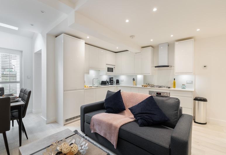 匹黎可 - 泰晤士私人公寓酒店, 倫敦, 都會公寓 (2174. Claverton), 客房