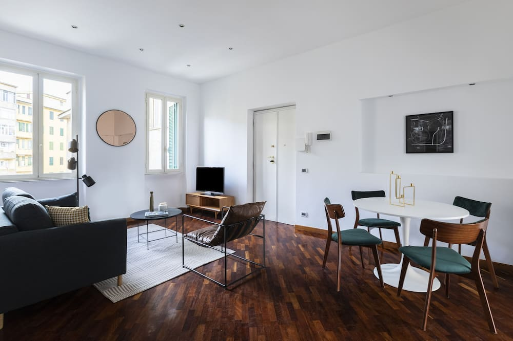Superior apartman, 2 spavaće sobe, balkon - Dnevna soba