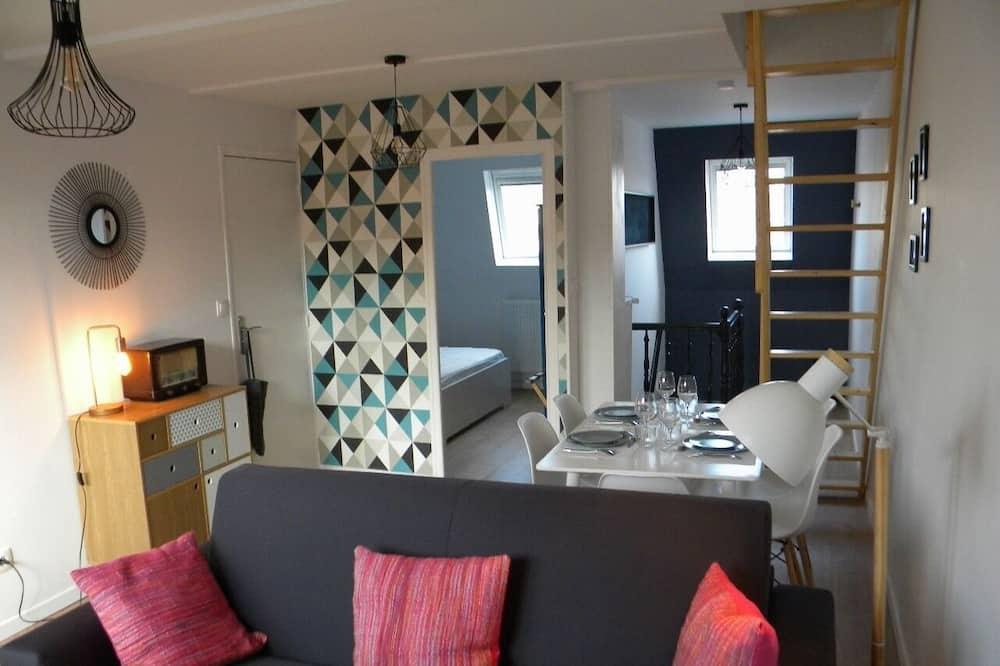 Διαμέρισμα, Μπάνιο στο δωμάτιο - Lounge