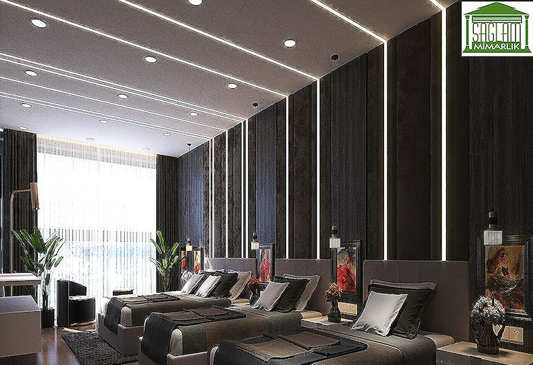 Istanbul Airport Express Hotel, ארנבוטקוי, חדר דה-לוקס לשלושה, חדר אורחים
