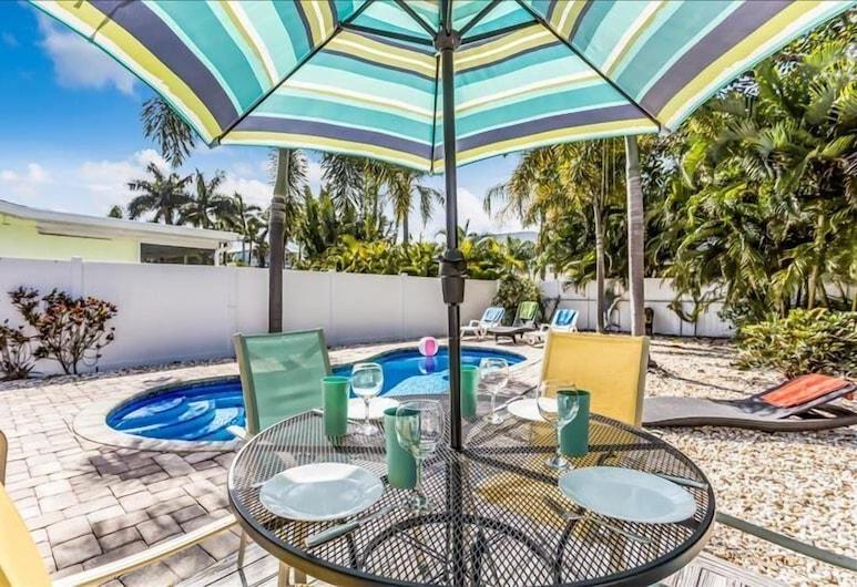 Violetta 3 Bedroom Home, Bradenton Beach, Hús - 3 svefnherbergi, Svalir