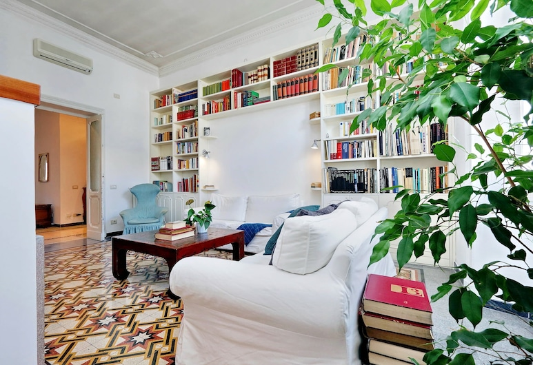歐斯拉維亞中央公寓酒店, 羅馬, 公寓, 3 間臥室, 客廳