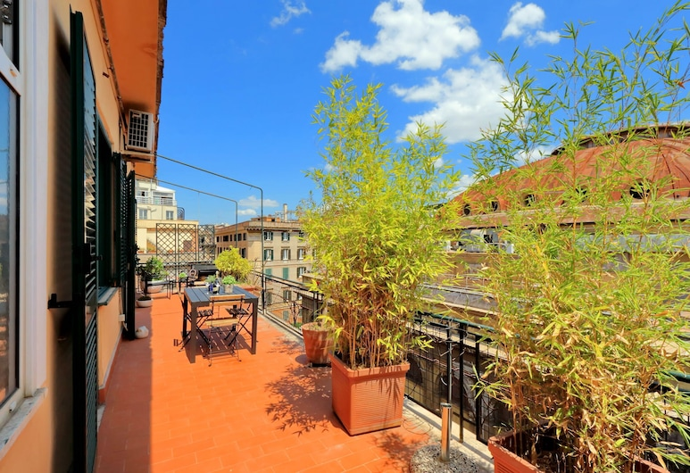 Repubblica Apartments, Rome, Apartment, 3 Bedrooms (Tino 2), Terrace/Patio
