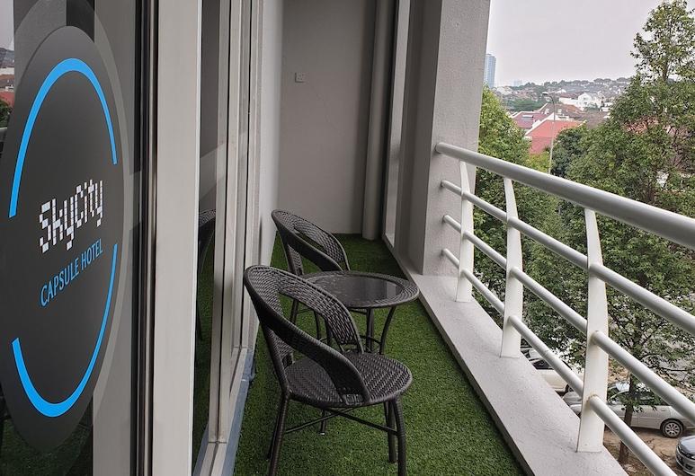 SkyCity Capsule Hostel, Kuala Lumpur, Yhteismajoitus (Mixed), Parveke
