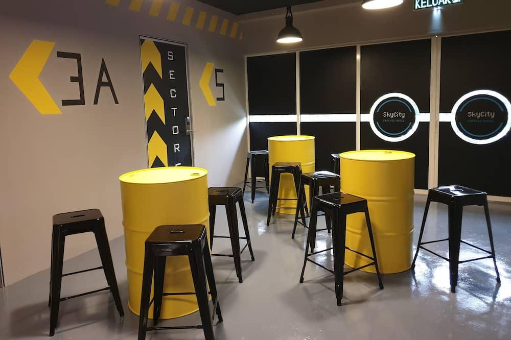Loftový byt typu City - Obývací prostor