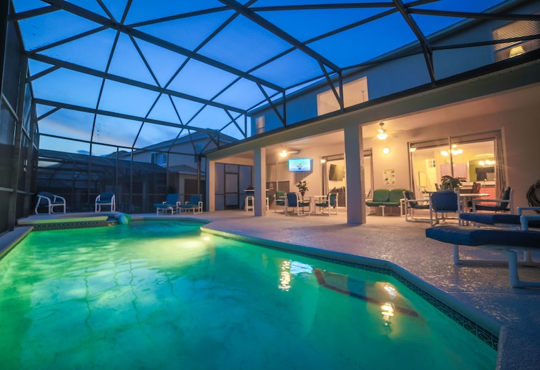 Enchanted Emerald Oasis by VillaDirect, Kissimmee, House (7 Bedrooms, 4.5 Bathrooms), Private pool