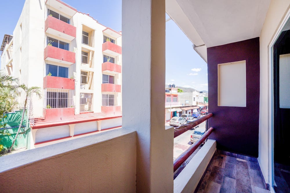 Familienzimmer - Blick vom Balkon