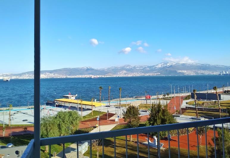 Casa moderna con increíbles vistas al mar, Izmir, Balcón