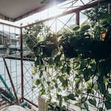 Tomannsrom – deluxe - Balkongutsikt
