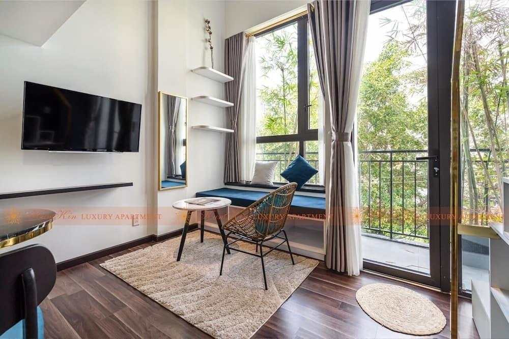 Business-Apartment - Wohnbereich