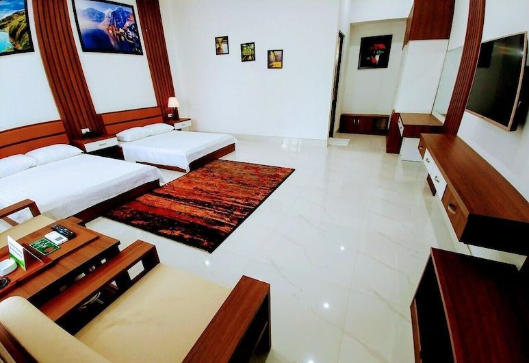 Nhat Quang Hotel, Bao Loc, Tomannsrom – deluxe, 2 queensize-senger, Gjesterom