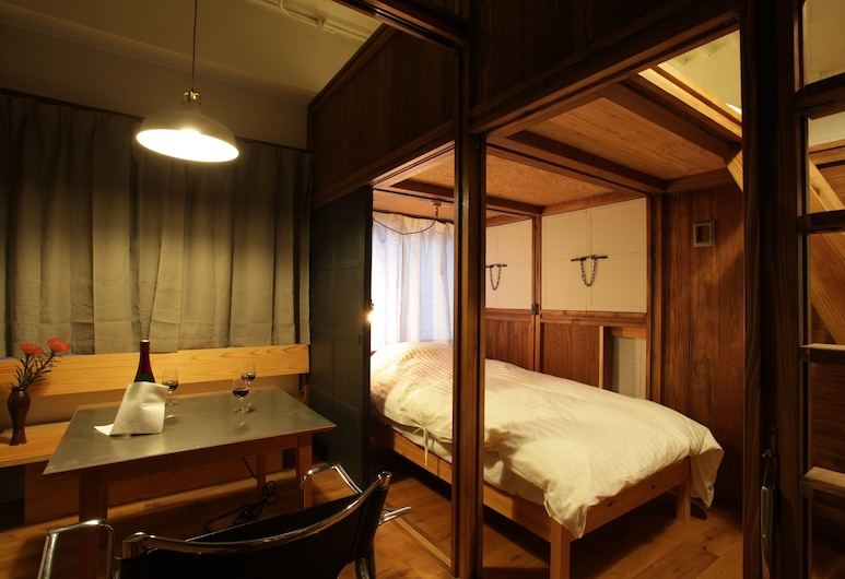 Hotel OKUnoMA, 台東区, カフェコーナーのある部屋 (201) (共用バスルーム), 部屋