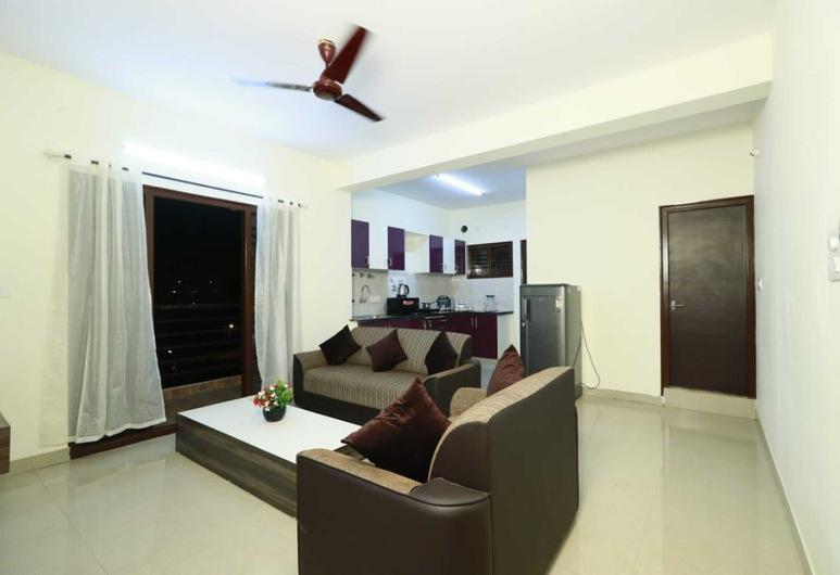 寧靜果園服務式公寓酒店, 邦加羅爾, 經濟公寓, 1 間臥室, 客廳
