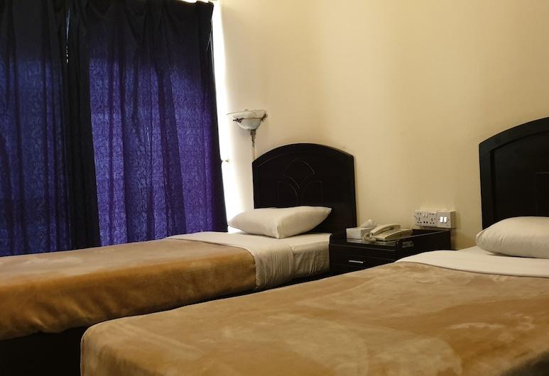 Royal Creek Hotel, Dubajus, Dvivietis kambarys (2 viengulės lovos), balkonas, Svečių kambarys