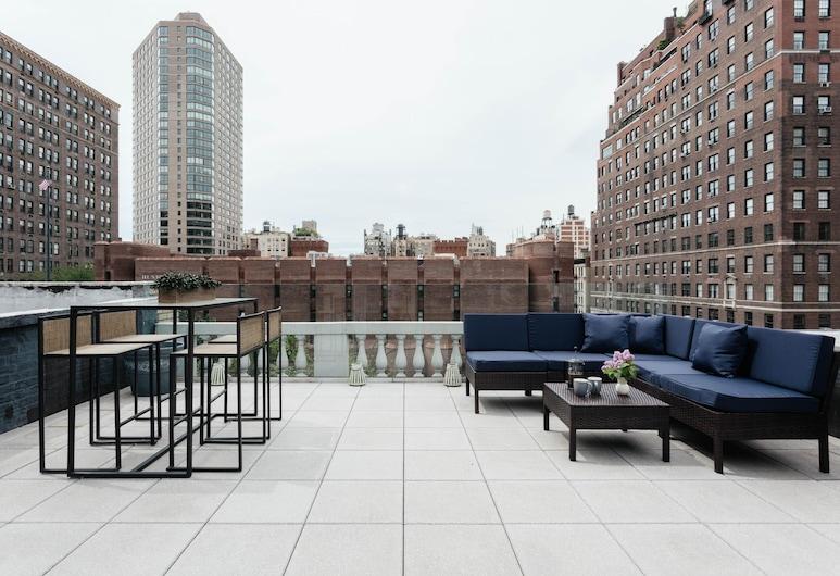 Park Avenue Mansion by Onefinestay, ניו יורק, דירה (6 Bedrooms), מרפסת