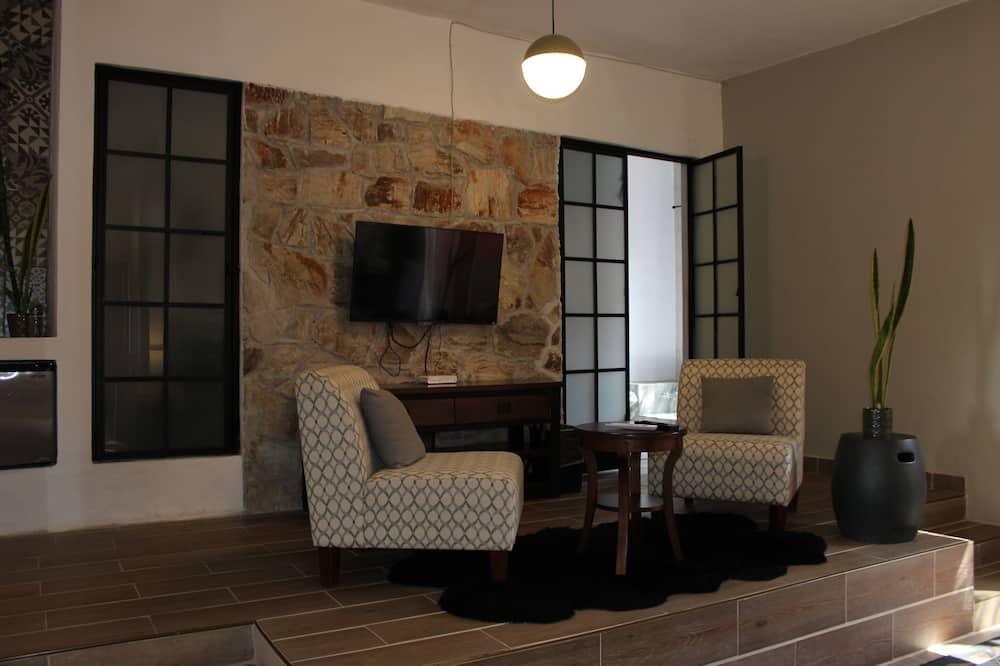 Deluxe Oda, Küvet - Oturma Alanı