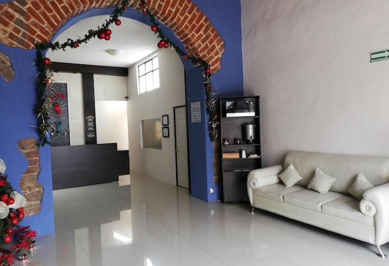 Hotel Santa Julia, Tecamachalco, אזור ישיבה בלובי