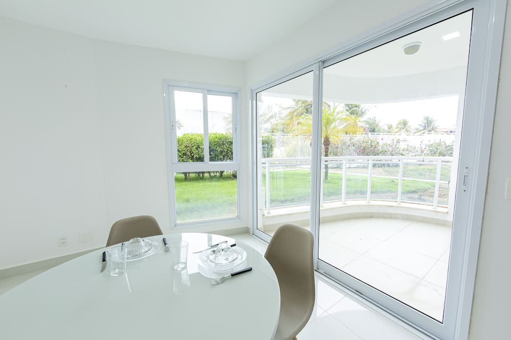 Apartament podstawowy - Balkon