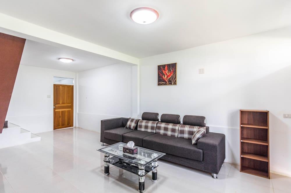 Familienvilla - Wohnzimmer