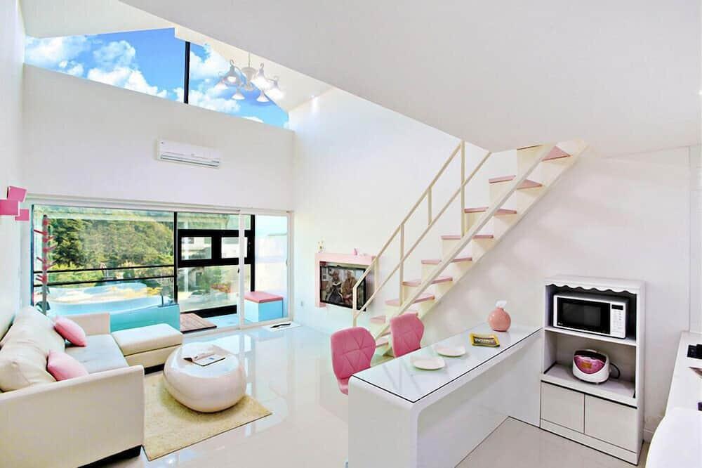 ห้องพัก (Peach(2F,SPA)) - ห้องนั่งเล่น