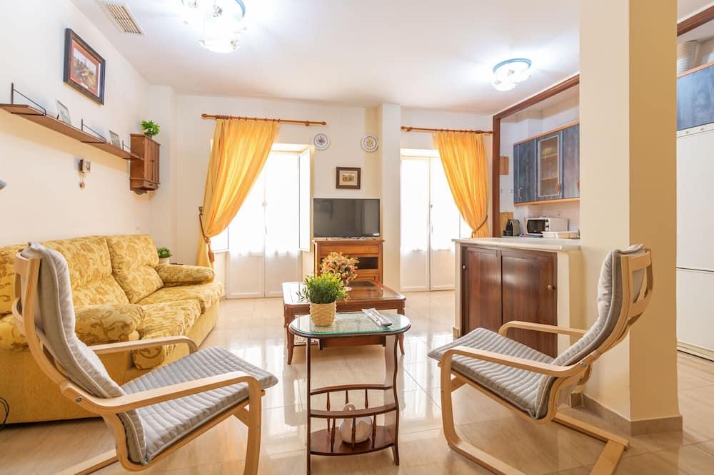 Dzīvokļnumurs, divas guļamistabas, terase - Dzīvojamā zona