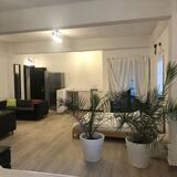 Habitación cuádruple clásica - Sala de estar