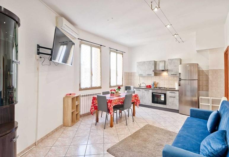 Jolly Apartment Venezia Negrelli, Mestre, Comfort Triple Room, Shared Bathroom, Living Room