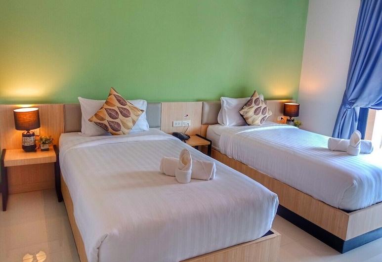 Louis' Runway View Hotel, Thep Kasattri, Basic Twin Room, Guest Room