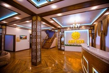 Introduce las fechas para ver los descuentos de hoteles en Tashkent