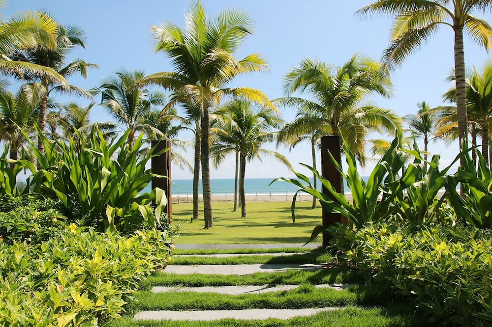 Luksuzna vila, 6 spavaćih soba, privatni bazen, uz plažu - Soba