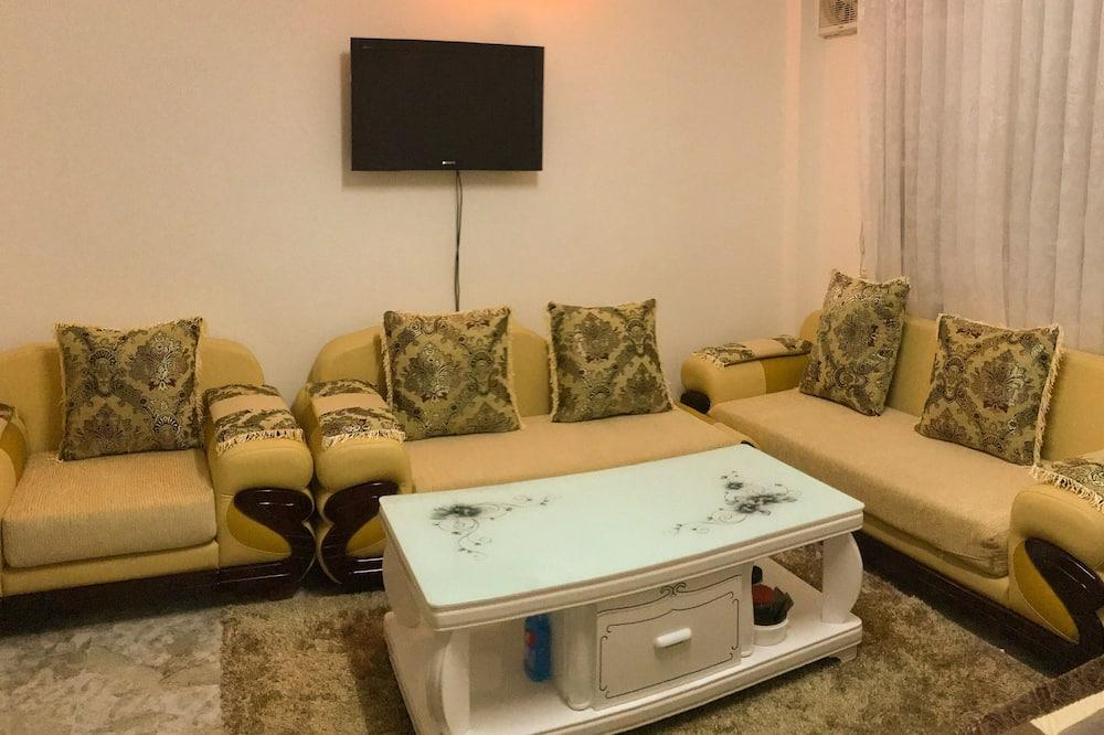 Jednolůžkový pokoj typu Superior - Obývací prostor