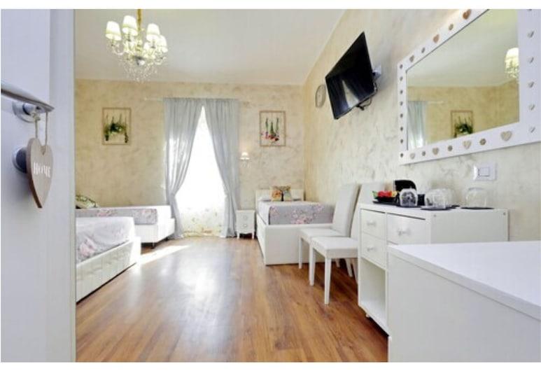 放鬆按摩浴缸套房酒店, 羅馬, 家庭客房, 客房