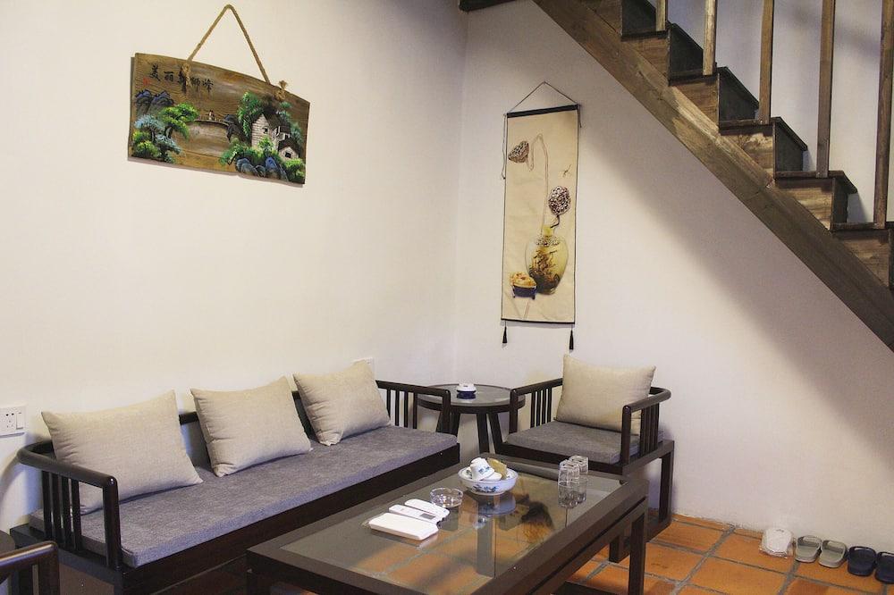 Phòng Suite, Ban công (Mainland Chinese Citizen Only) - Phòng khách