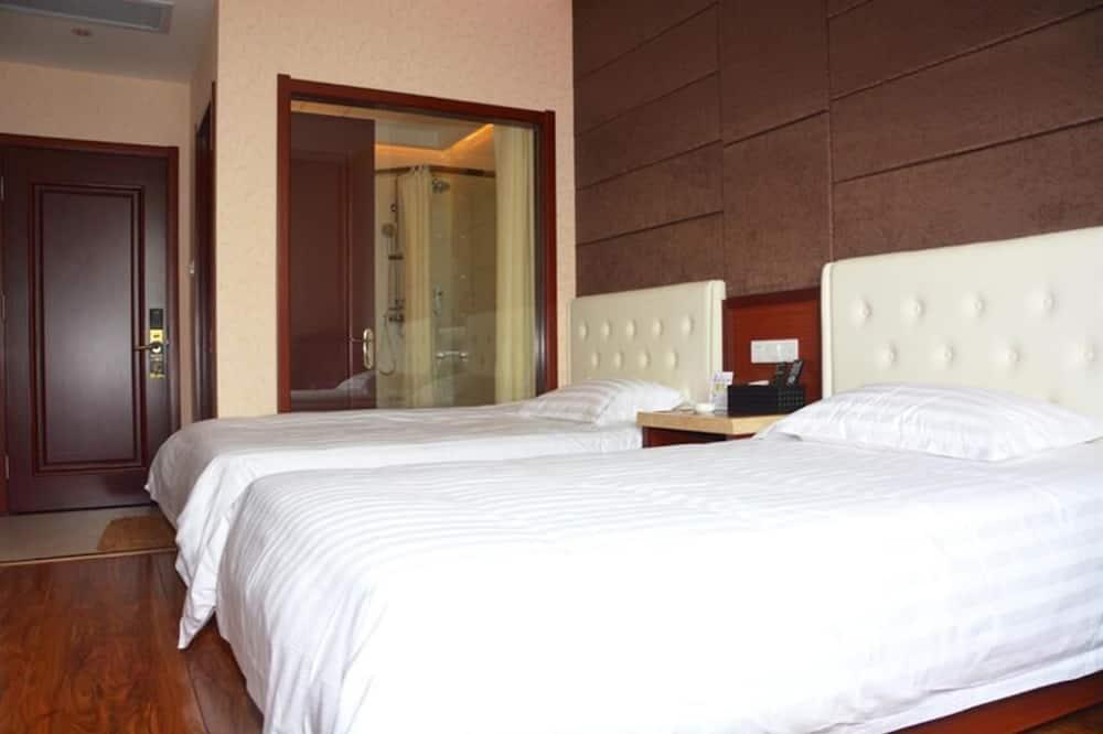 Habitación con 2 camas individuales, vista a la ciudad - Baño