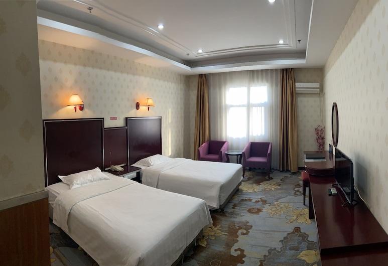 金輝國際商務會議大酒店, 北京市, 豪華雙床房, 客房