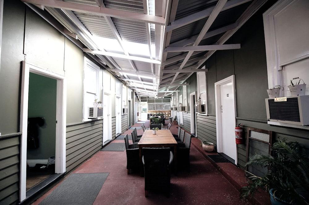 Doppelzimmer, Gemeinschaftsbad - Terrasse/Patio