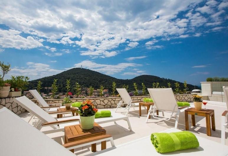 Villa Boro, Dubrovnik, Quarto casal, Sacada, Vista para o mar, Terraço/pátio