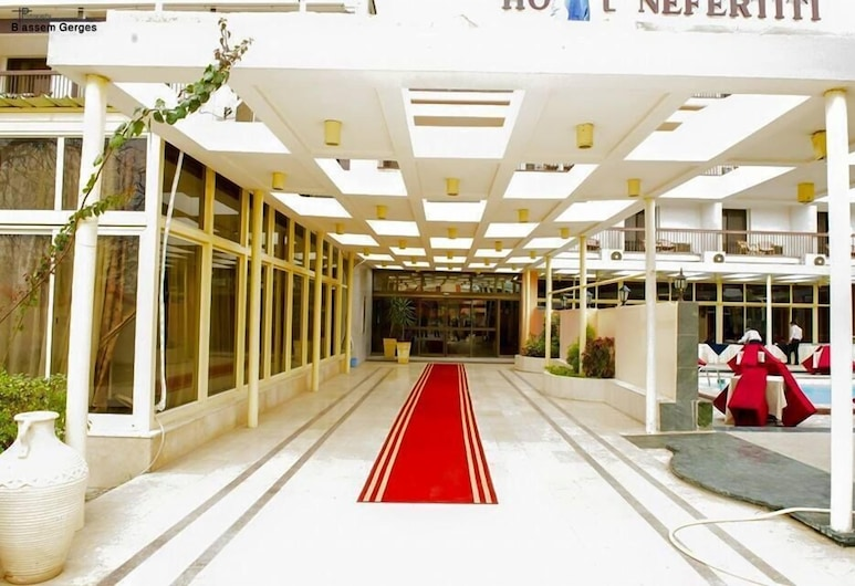 MG Nefertiti Hotel, Al-Minja, Wejście do hotelu