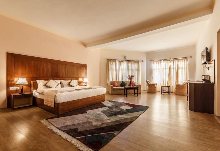 Reenam Hotel, Leh, Family Studio Suite, Living Room