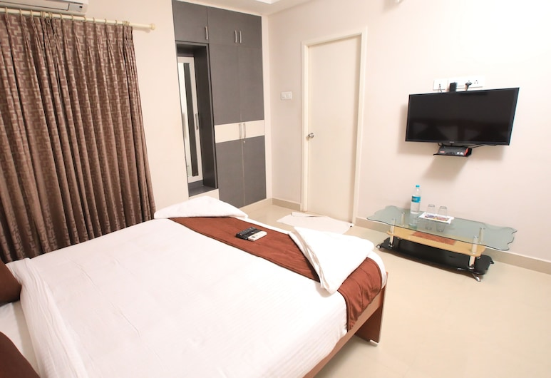 Rithikha Inn Elite, Chennai, Deluxe Double Room, Guest Room View