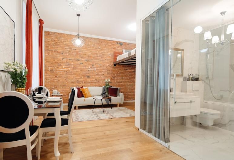City Home by Loft Affair, Krakow, Studio Suite Kota, Area Keluarga
