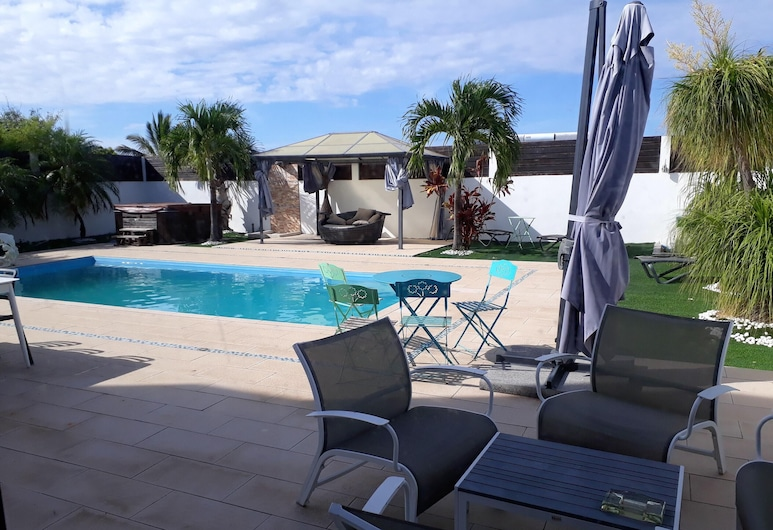Villa With 3 Bedrooms in Saint Pierre, With Private Pool, Enclosed Garden and Wifi, Entre-Deux, Pool