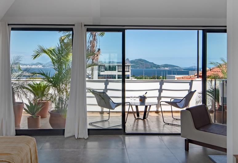 Villa Paranagua, Rio de Janeiro, Deluxe Suite, Balcony
